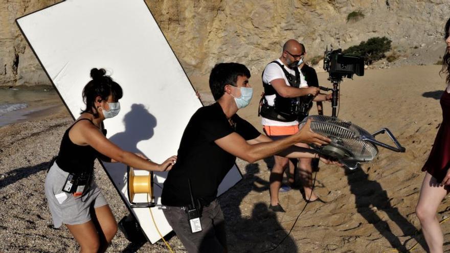 """El rodaje de la serie """"Alba"""" llega a la Marina Baixa"""