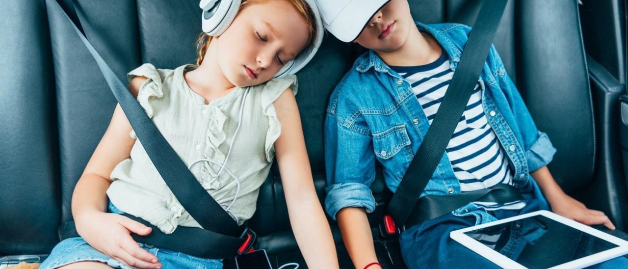 Viajar con niños en coche: cinco trucos infalibles