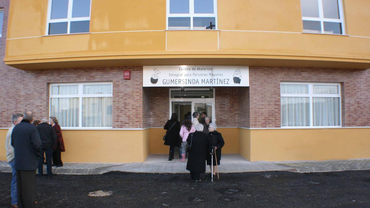La residencia de mayores de Navarrés, Gumersinda Martínez, en una imagen de archivo