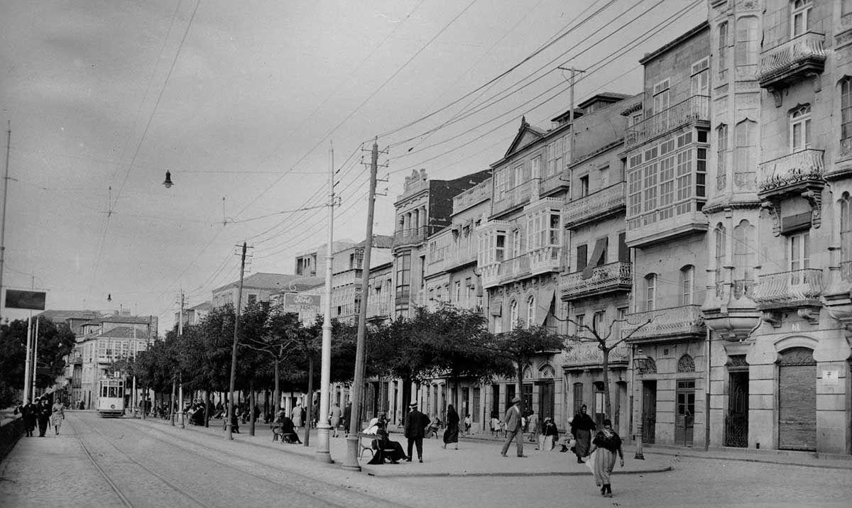 Paseo de Alfonso XII 1920 -1936
