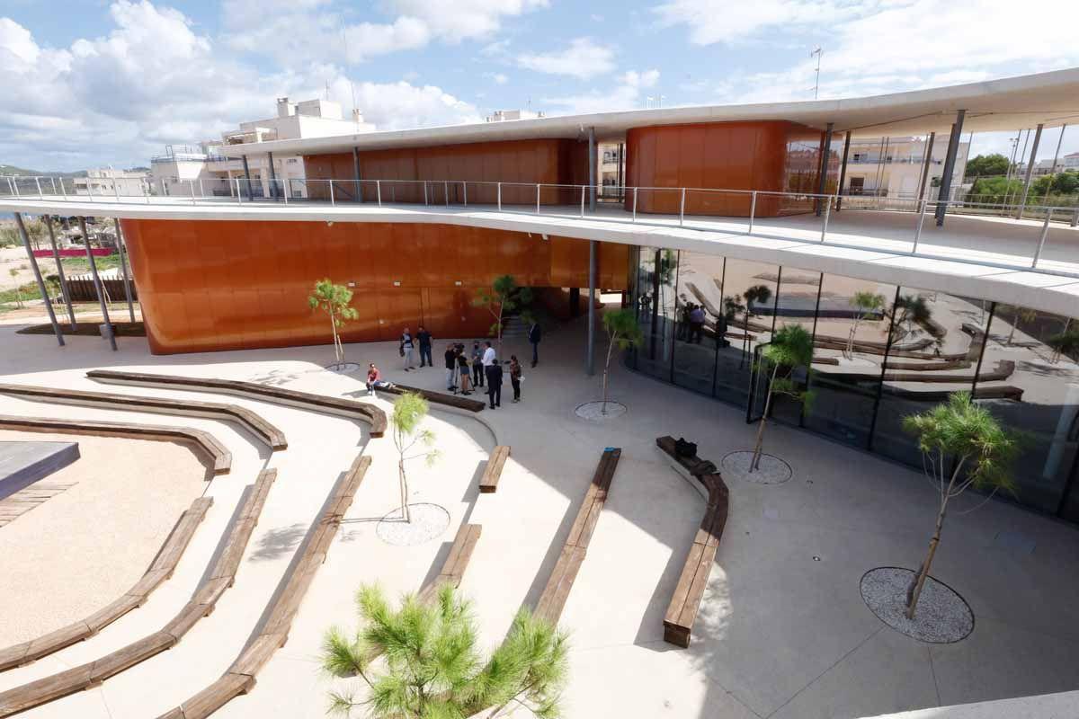 Inauguración de es Caló de s'Oli