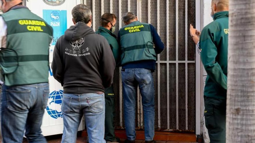 Detenido el guía de la buceadora que murió atrapada en un buque en La Luz