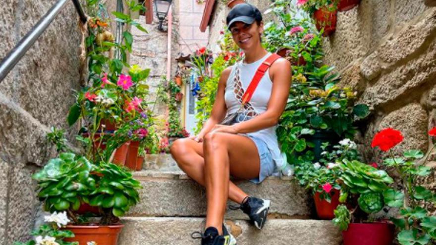 Cristina Pedroche y David Muñoz presumen del verano en Galicia