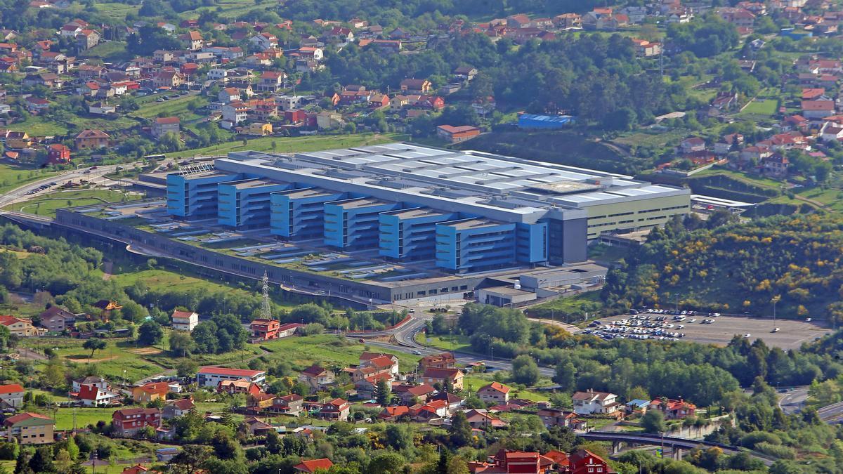 Vista general del Hospital Álvaro Cunqueiro.