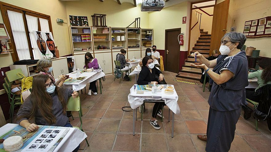 Un instituto de Alcora abre las visitas a la «Domus Babia»