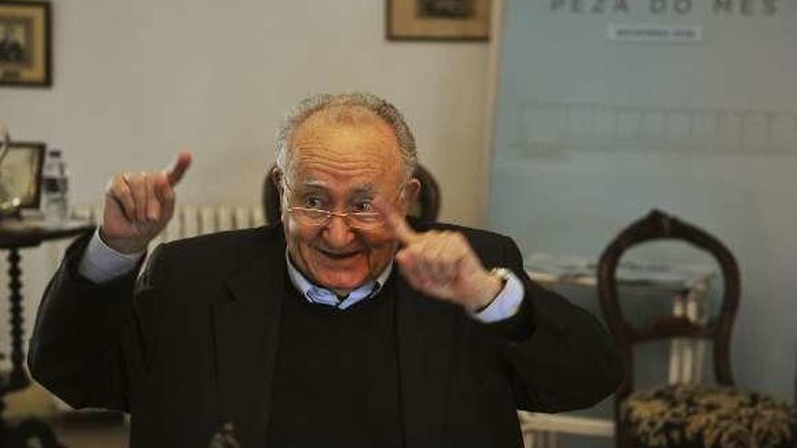 Pedro Martul fabulaba sobre un Castelao medroso y un Stalin que hablaba gallego