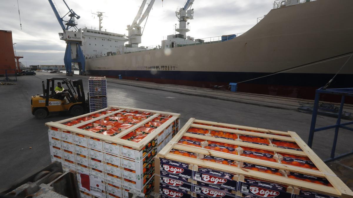 Exportadores y agricultores esperan poder volver a enviar a los EEUU.