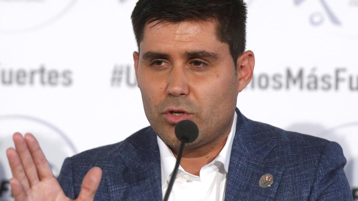 El presidente de la Asociación de Futbolistas de España
