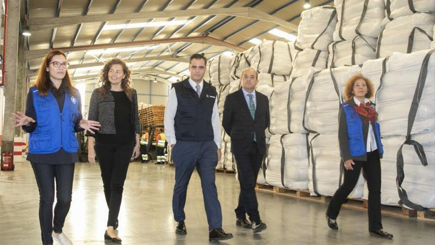 El PMA envía desde La Luz 11.500 toneladas de sorgo a África