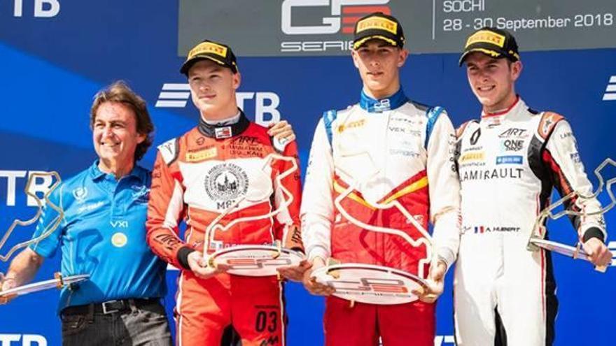 Pulcini lleva al Campos Racing a la victoria en las GP3 Series de Rusia