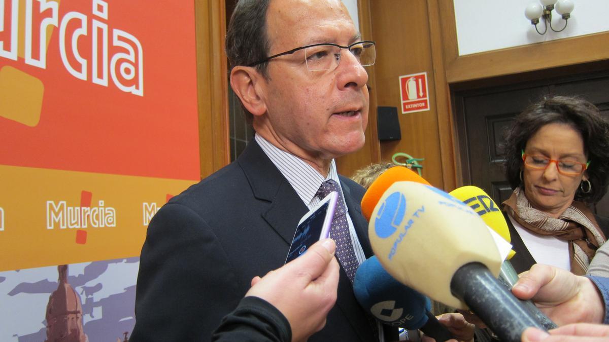 El exalcalde de Murcia, Miguel Ángel Cámara, en una foto de archivo.