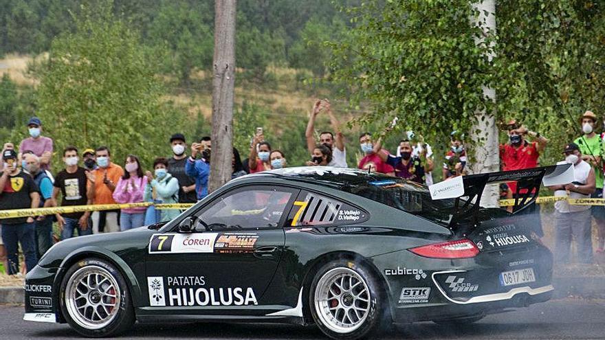 Pepe López, ganador del Rallye de Ourense