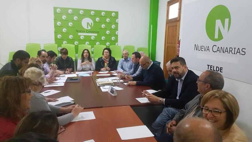 La nueva ejecutiva local de Nueva Canarias, mezcla de experiencia y savia nueva
