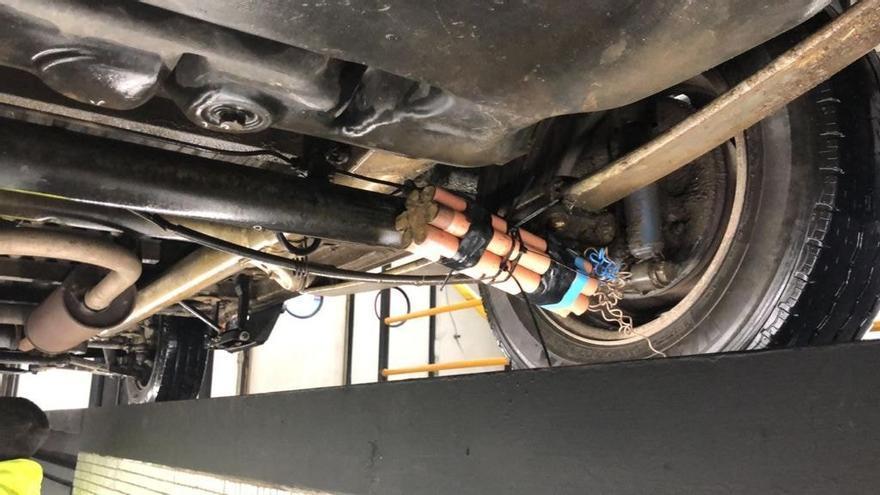 Encuentran una falsa bomba en un coche que fue a pasar la ITV a Cangas