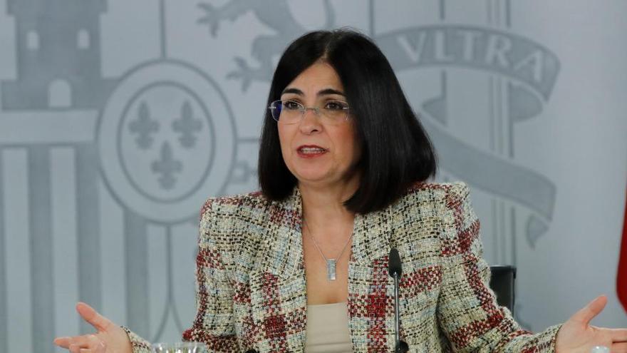 """El Gobierno avisa que la estrategia de vacunación es """"única"""" para todos los territorios"""