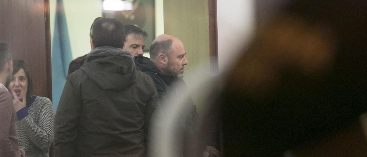 Jesús Muguruza tras su detención