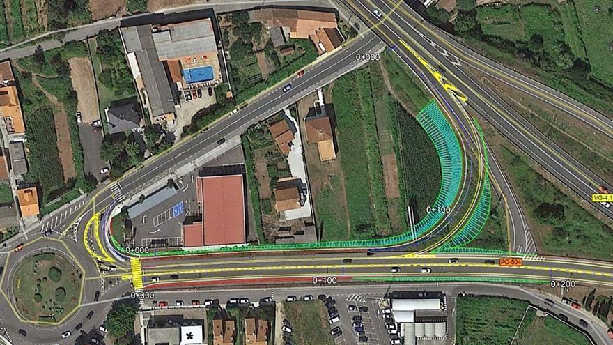 Publicado el decreto de las expropiaciones para mejorar la conexión de la autovía de O Salnés con la PO-504
