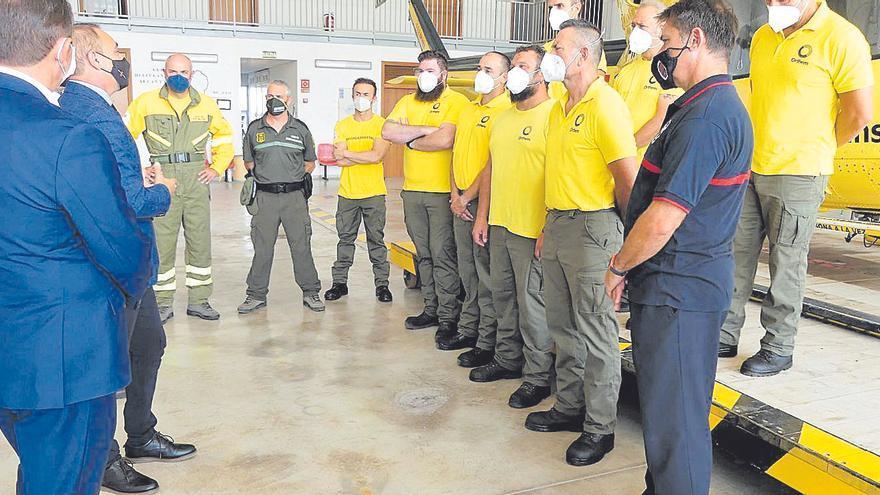 El Grupo Aéreo del Consorcio ya lleva realizados 21 rescates en lo que va de año