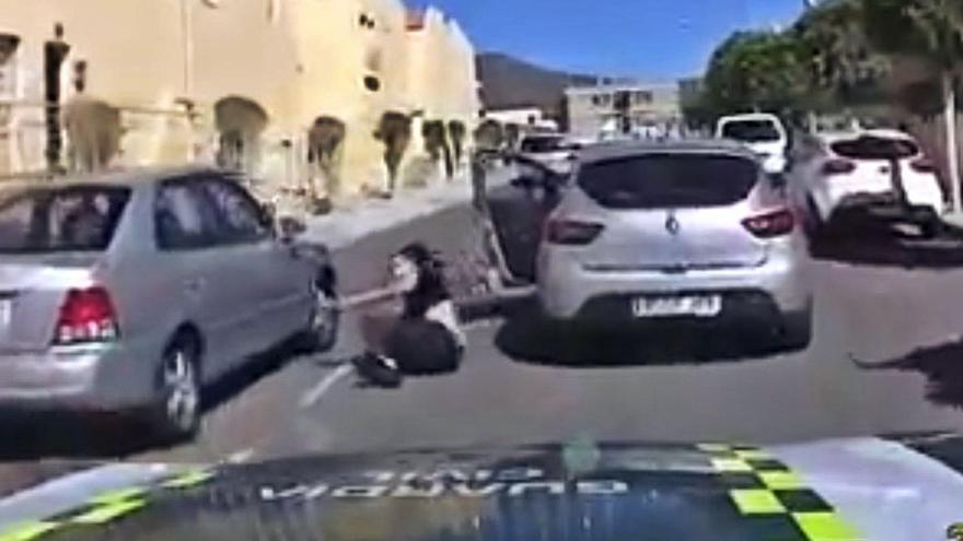 La Guardia Civil persigue por el Sureste a una conductora que un juzgado requería