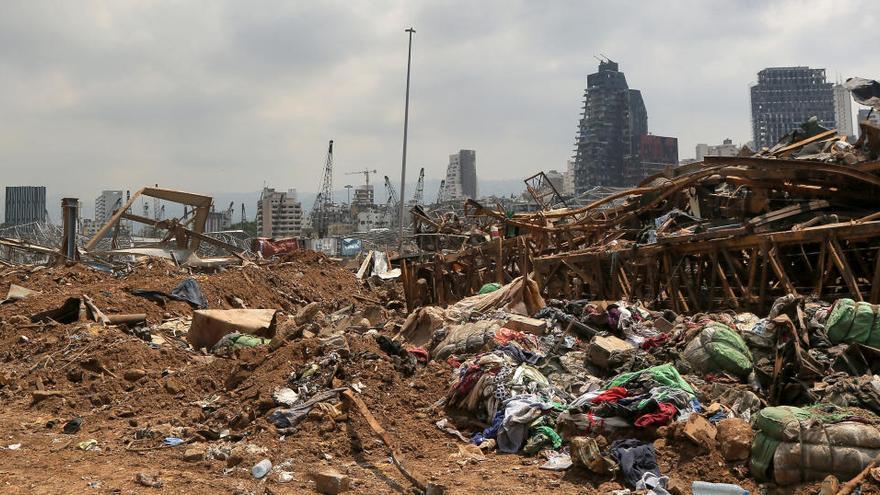 El presidente del Líbano sabía de la existencia del nitrato dos semanas antes de la explosión
