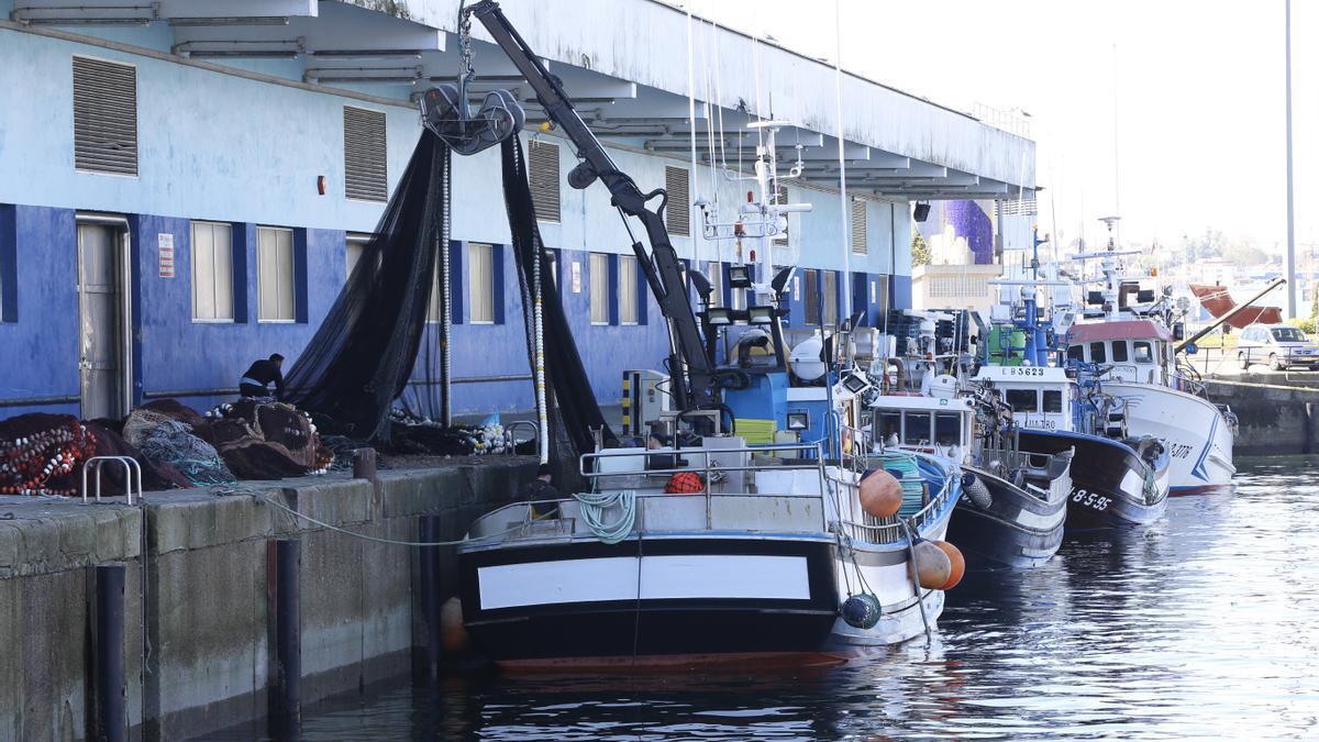 Barcos pesqueros.