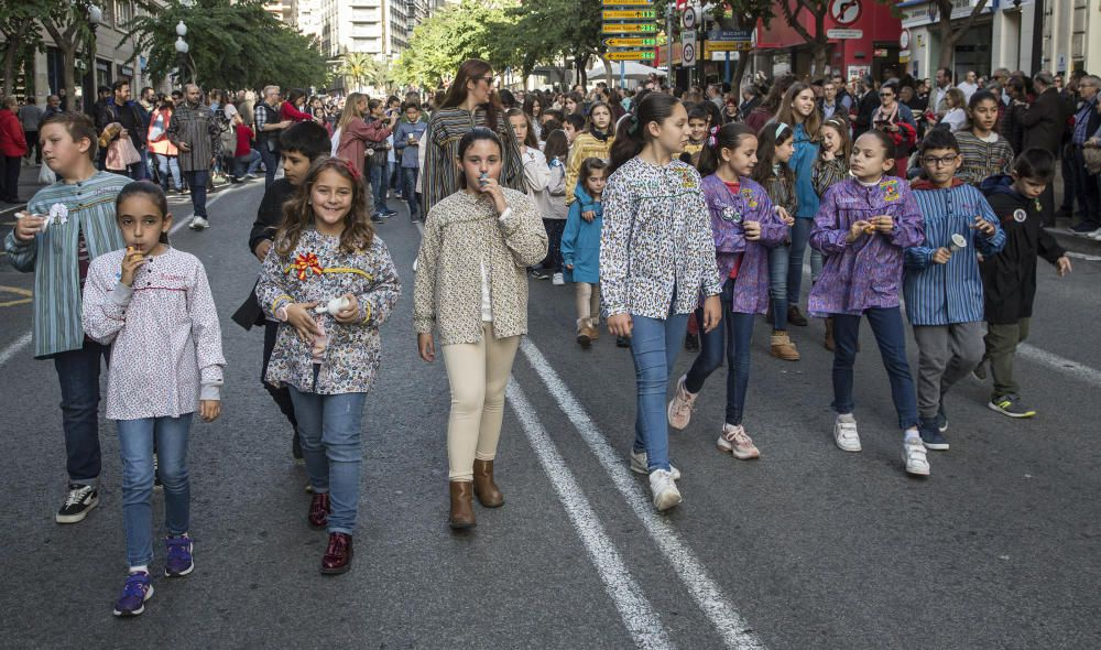 Alicante se ha volcado hoy con los actos por la festividad de San Nicolás
