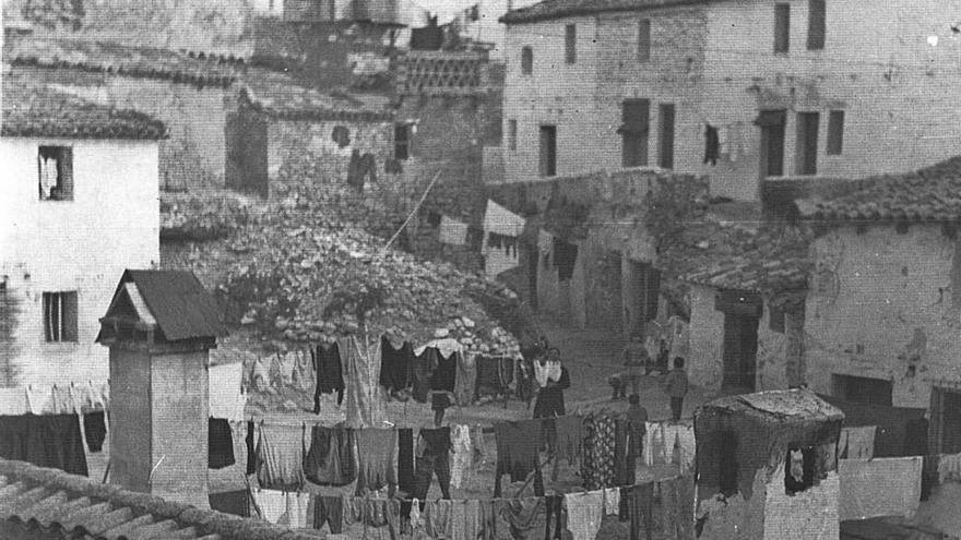 El barrio de Alberic          que salió de la cueva