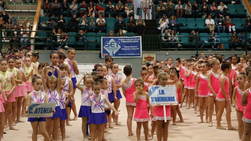 300 gimnastas en las semifinales de los Juegos Municipales de Torremolinos