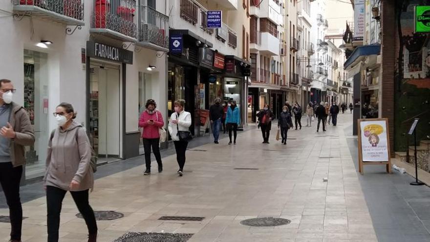 El comercio podrá recuperar hasta un 30% de clientes con el fin del cierre de Gandia