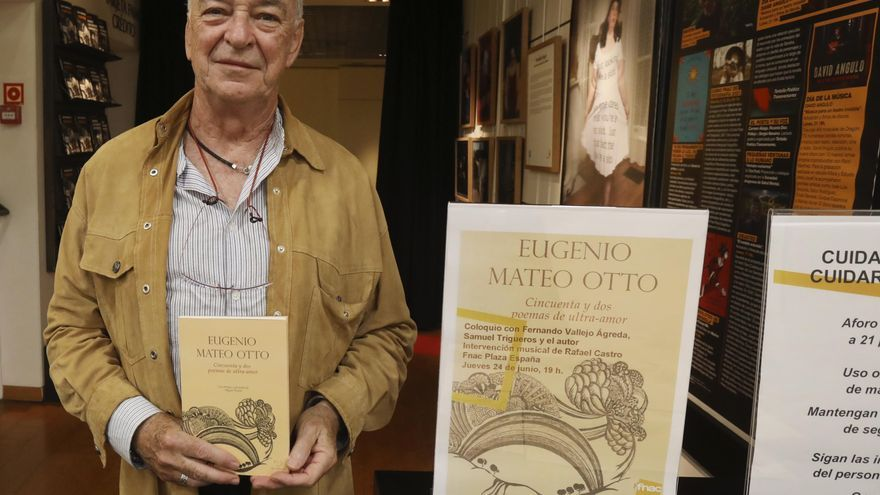 Eugenio Mateo rinde tributo al amor en su último poemario