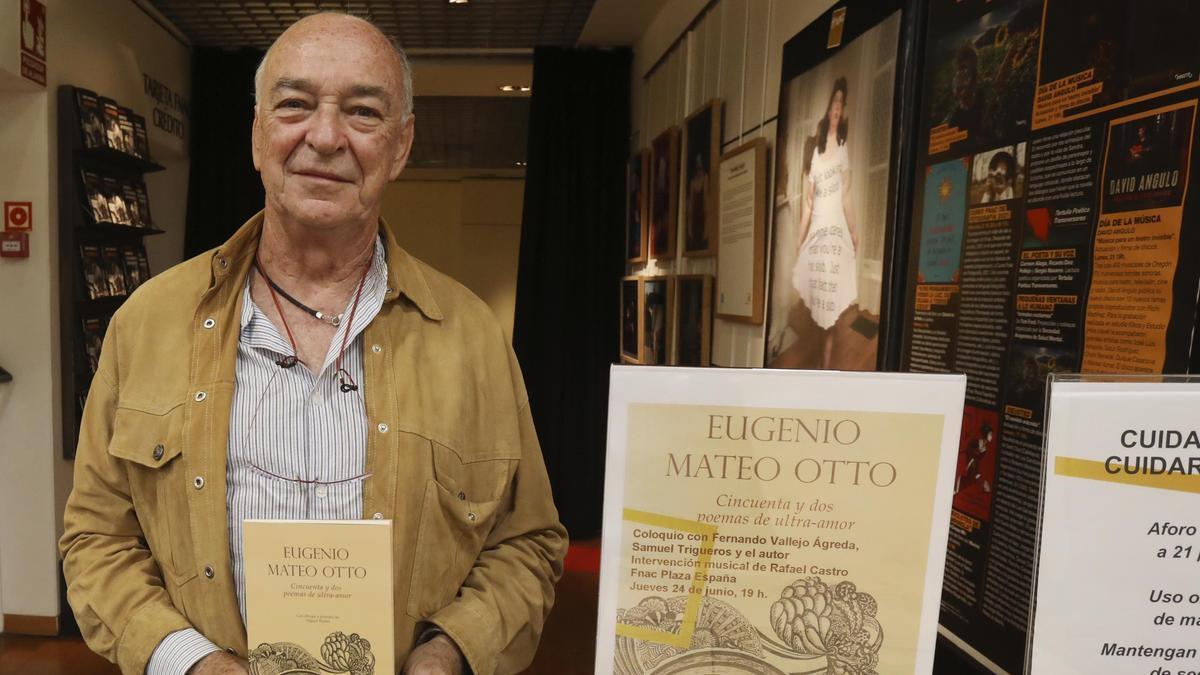 Eugenio Mateo en la presentación de su nuevo libro en la Fnac Plaza España.