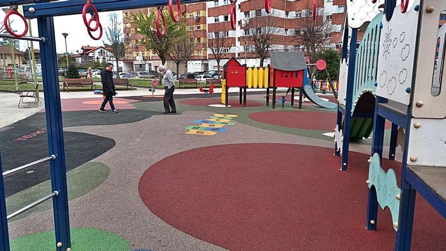 El parque de La Güelga, en Cancienes, abre tras las obras de ampliación