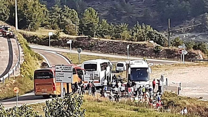 Guixers denunciarà la concentració de 150 persones a l'illa de Vilasaló