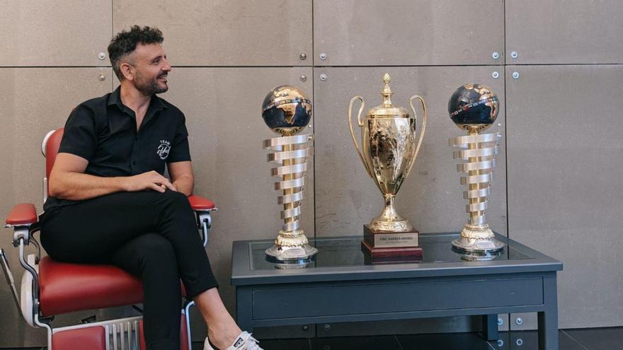 El reto del peluquero castellonense Paco Nogueras:  ser tetracampeón del mundo