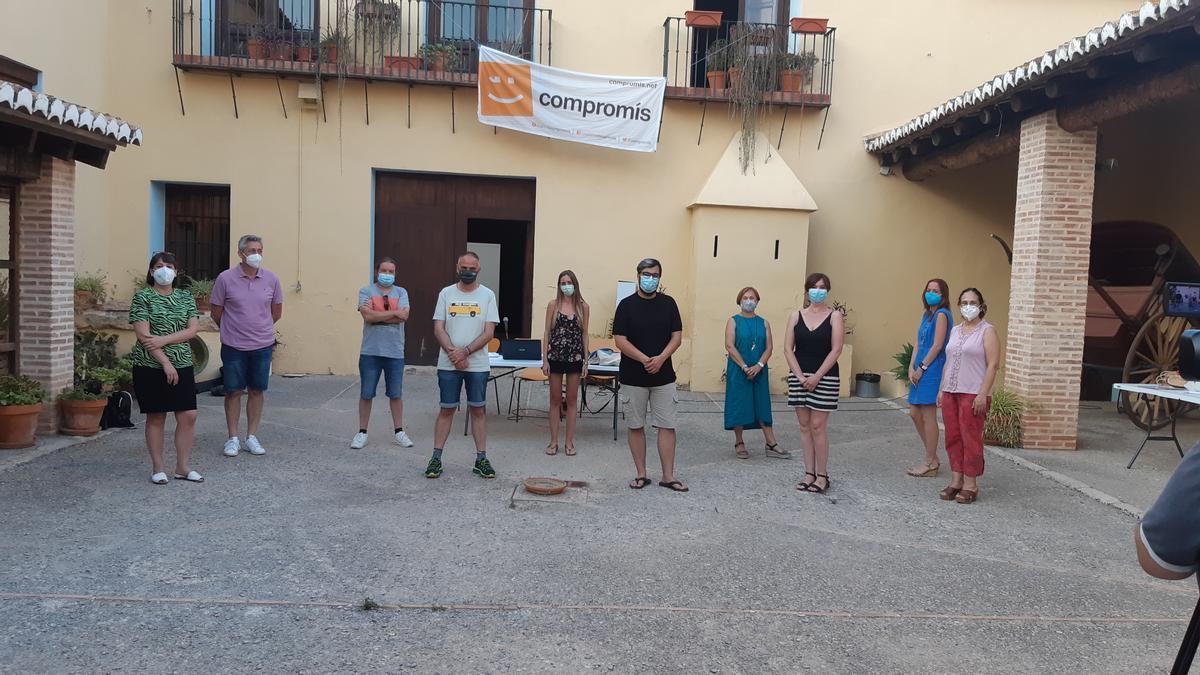 Ejecutiva comarcal de Més-Compromís en el Camp de Túria, la Serrania y el Rincón de Ademuz