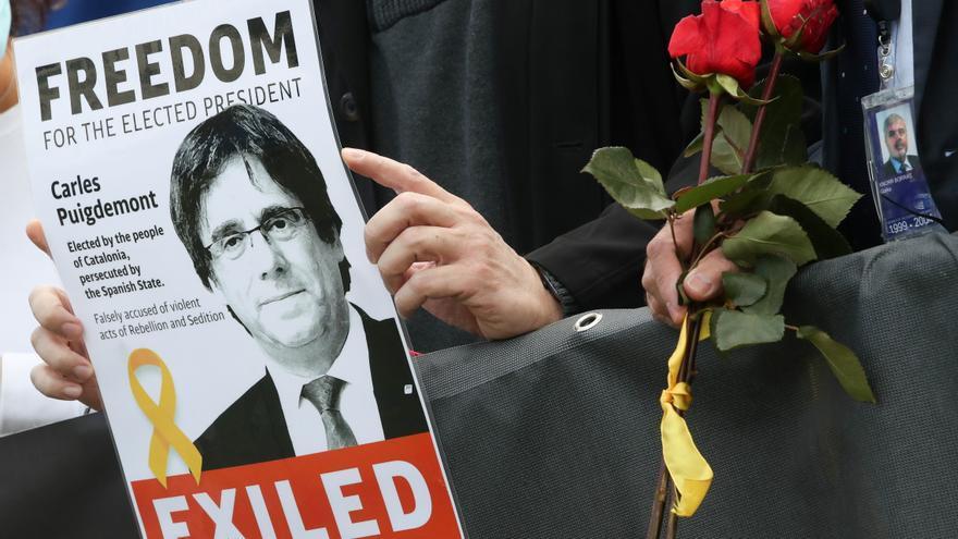 Kataloniens Ex-Premier Puigdemont nach Festnahme in Italien wieder auf freiem Fuß