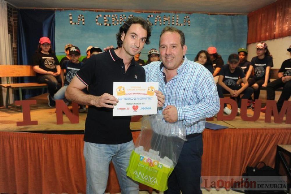 Entrega de galardones del concurso '8 piezas, 8 premios'