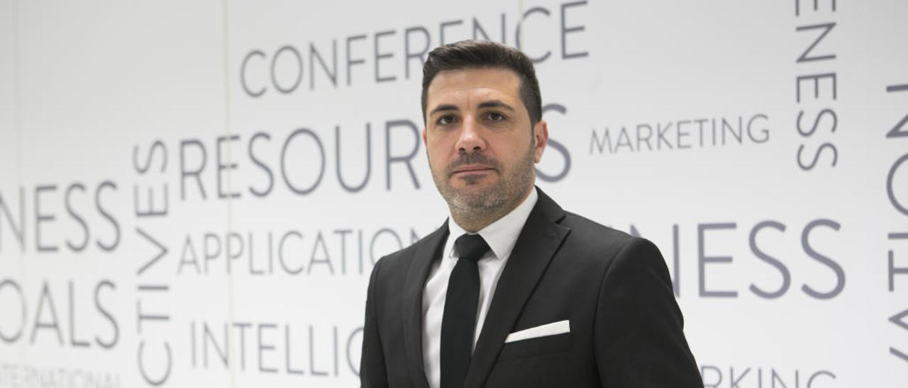 Javier Reina, en el Business Wordl Alicante