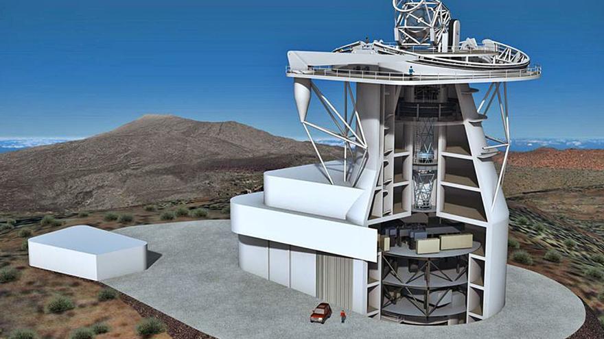 El Telescopio Solar Europeo se instalará en las cumbres de la Isla