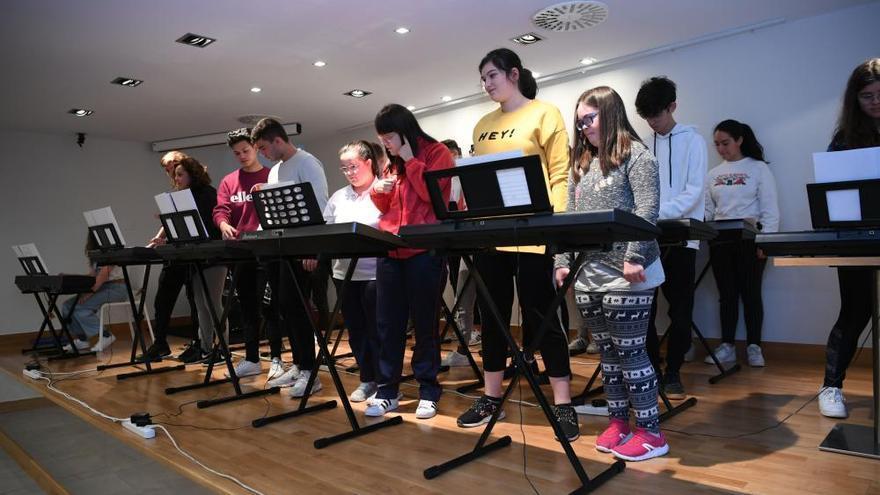 Concierto de alumnos de Zalaeta, Aspronaga y Aspanaes
