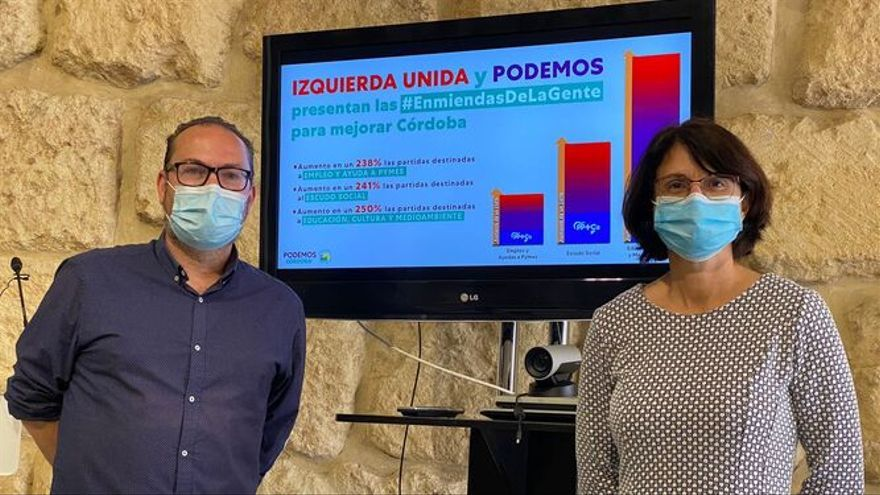 IU y Podemos votarán en contra del presupuesto municipal del 2021