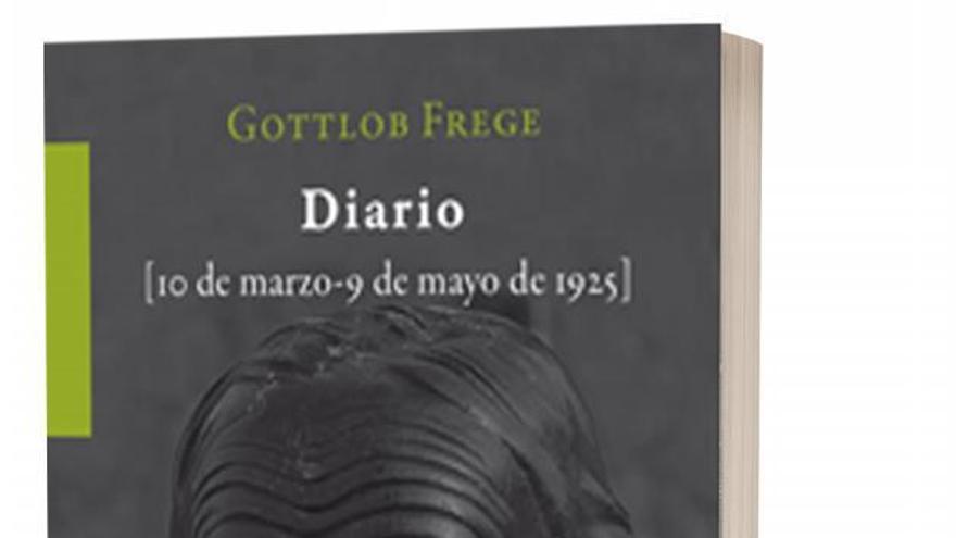 Novedad en KRK ediciones: 'Diario' de Frege, con traducción y notas de Luis Valdés Villanueva