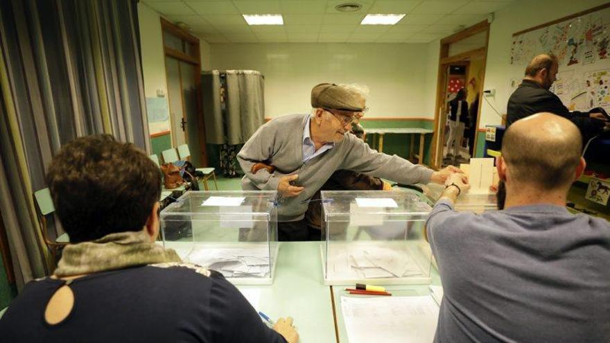 Jornada electoral en Aragón