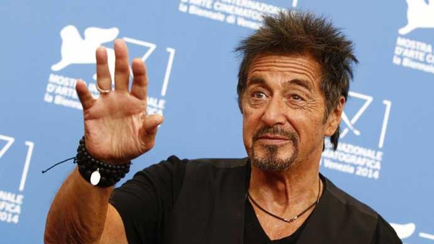 El actor Al Pacino.