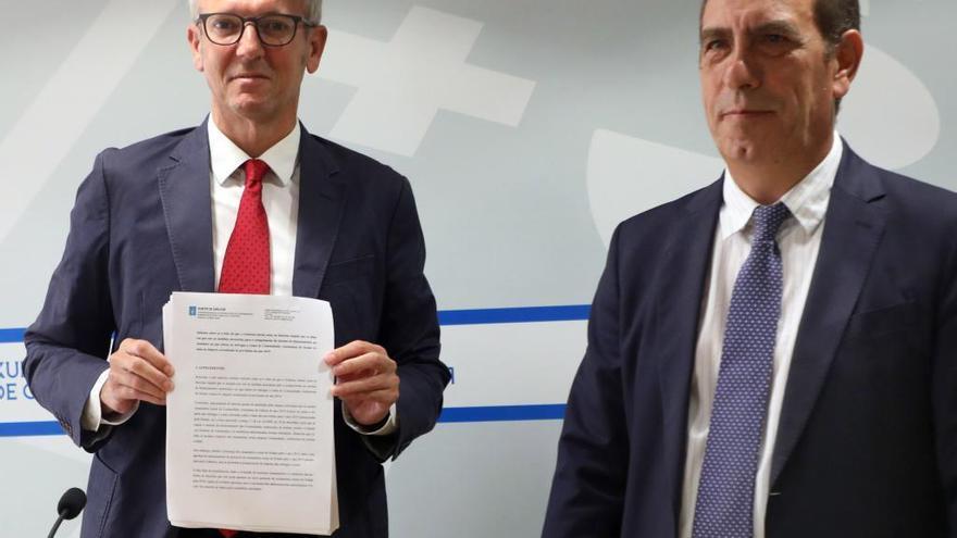 La Xunta contraataca con un informe que ve legal el pago de fondos estatales pendientes