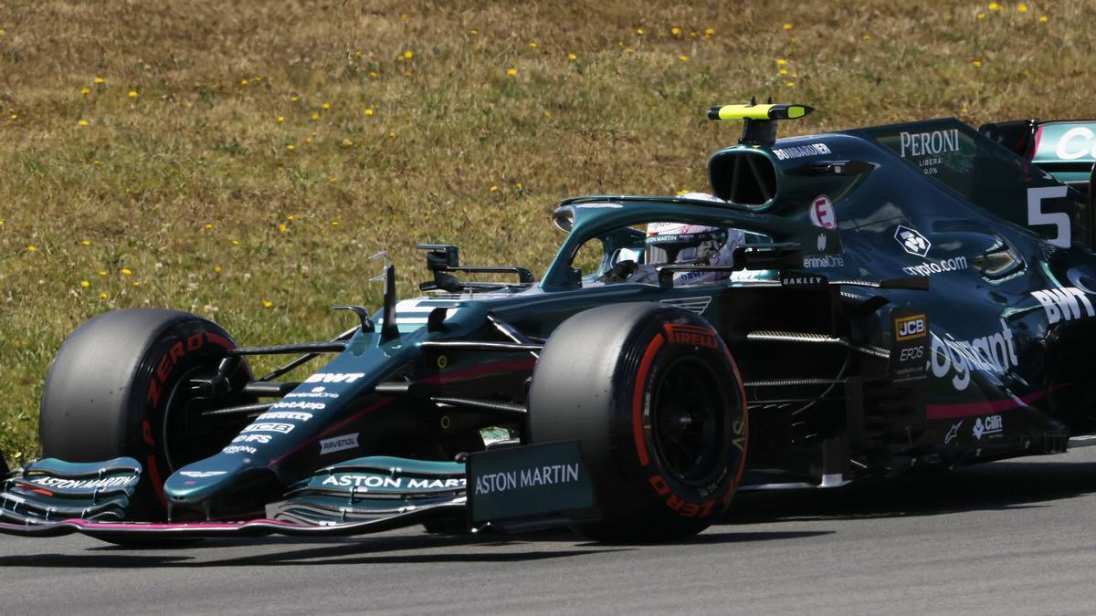 An image of Sebastian Vettel.