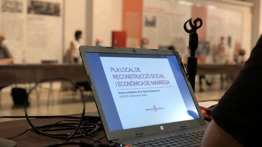 El pla social i econòmic anticovid de Manresa arriba a 5,4 milions d'euros