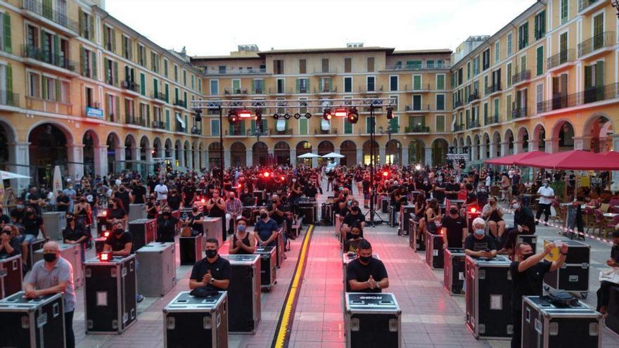 300 Demonstranten: Mallorcas Event-Branche macht mobil