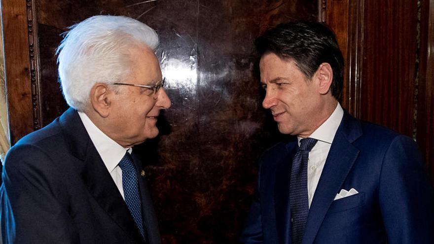 Mattarella encarga a Conte la formación de un nuevo Gobierno en Italia