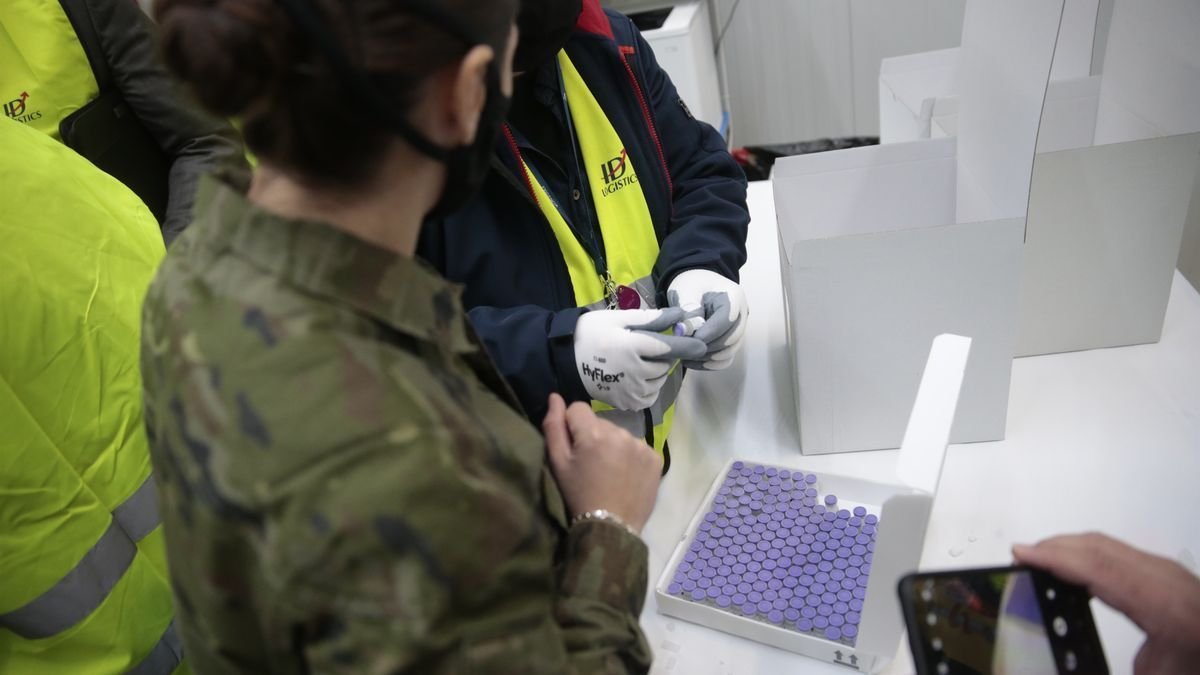 The first vaccines against COVID-19 are already on their way to the Canary Islands